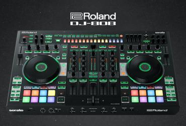 Serato در همکاری مشترک خود با Roland از دی جی کنترلر DJ-808 رو نمایی کرد