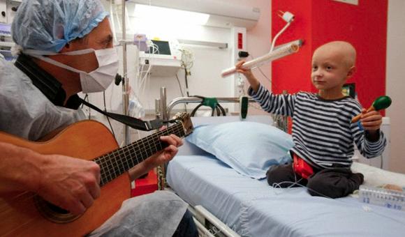 تاثیر موسیقی بر روی سرطان