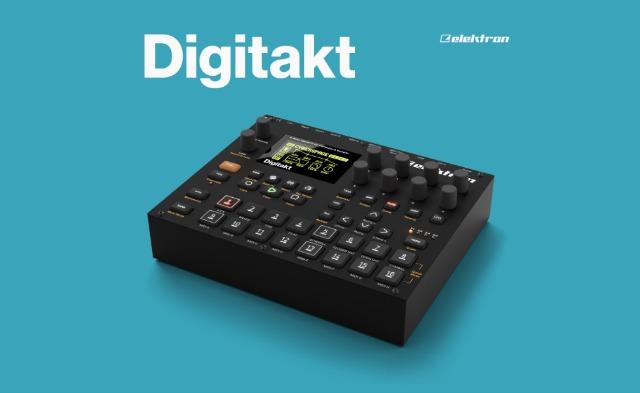 """الکترون درام ماشین و سمپلر کامپکت دیجیتال خود را با نام """"Digitakt"""" معرفی کرد"""