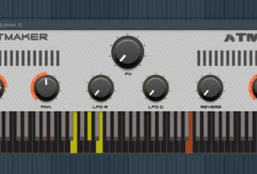 Beatmaker Atmos یک پلاگین پیانو امبینت رایگان است