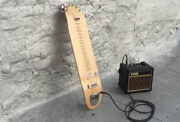 تبدیل اسکیت برد به یک ساز واقعی: لپ اسکیت گیتار
