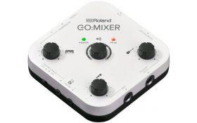 Roland میکسر کامپکت جدید،با توانایی ضبط بر روی تلفن هوشمند معرفی کرد