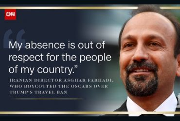 موفقیت دوباره اصغر فرهادی در جشنواره اسکار و اعتراض وی به تصمیم ضد بشریت ترامپ !!!