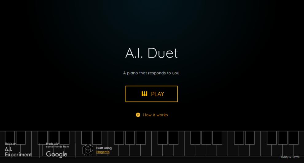هوش مصنوعی گوگل AI Duet