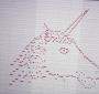این اسب تک شاخ طراحی شده با میدی نوت صدایی همانند ظاهرش دارد