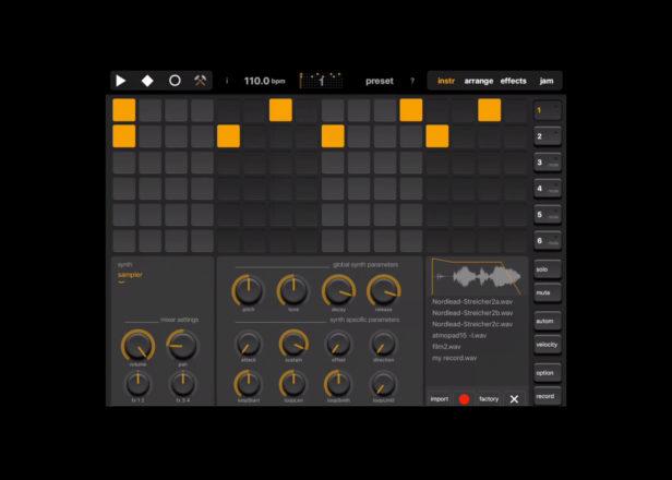 نسخه جدید اپلیکیشن Elastic Drums