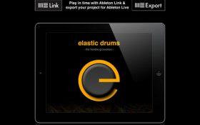 نسخه جدید اپلیکیشن Elastic Drums با قابلیت لایو ست اکسپورت ابلتون منتشر شد
