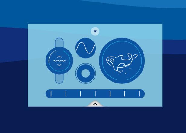 WhaleSynth سینتی سایزر تحت وب صدای نهنگ تولید میکند