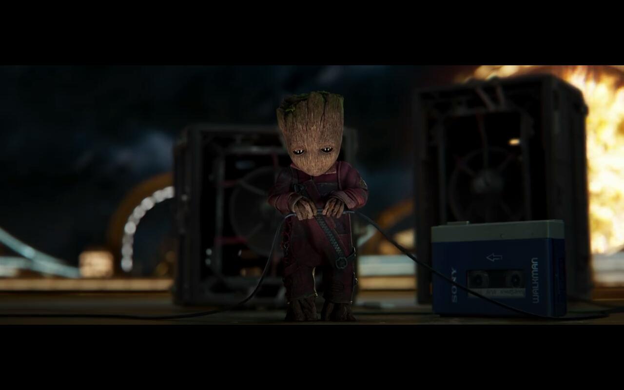 قسمت دوم فیلم Guardians of the Galaxy