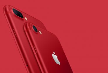 اپل آیفون 7 قرمز رنگ را رسما معرفی کرد