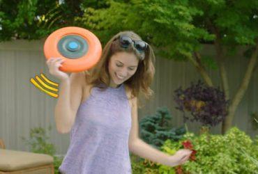 """این فریزبی """"Disc Jock-e"""" در واقع یک اسپیکر بلوتوث است!!!"""