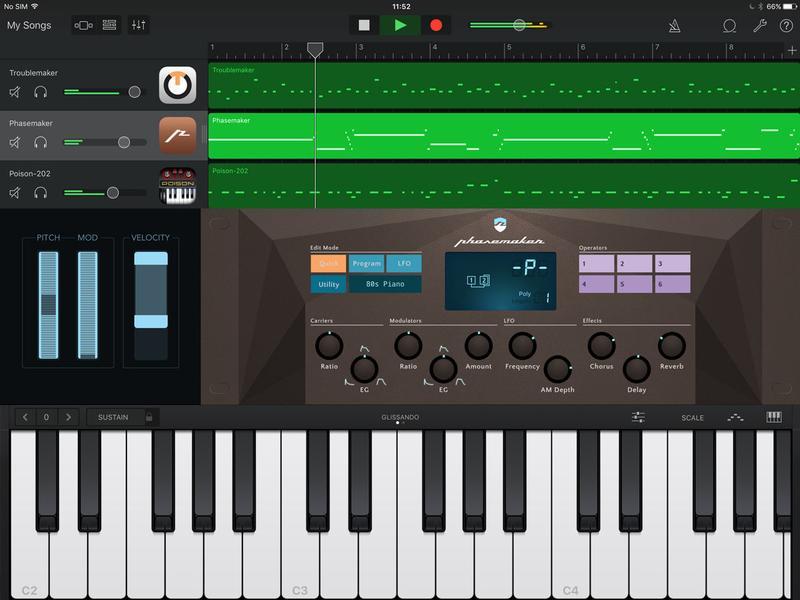 معرفی اپلیکیشن های آهنگسازی GarageBand ; ios به راحتی آهنگساز شوید!!!