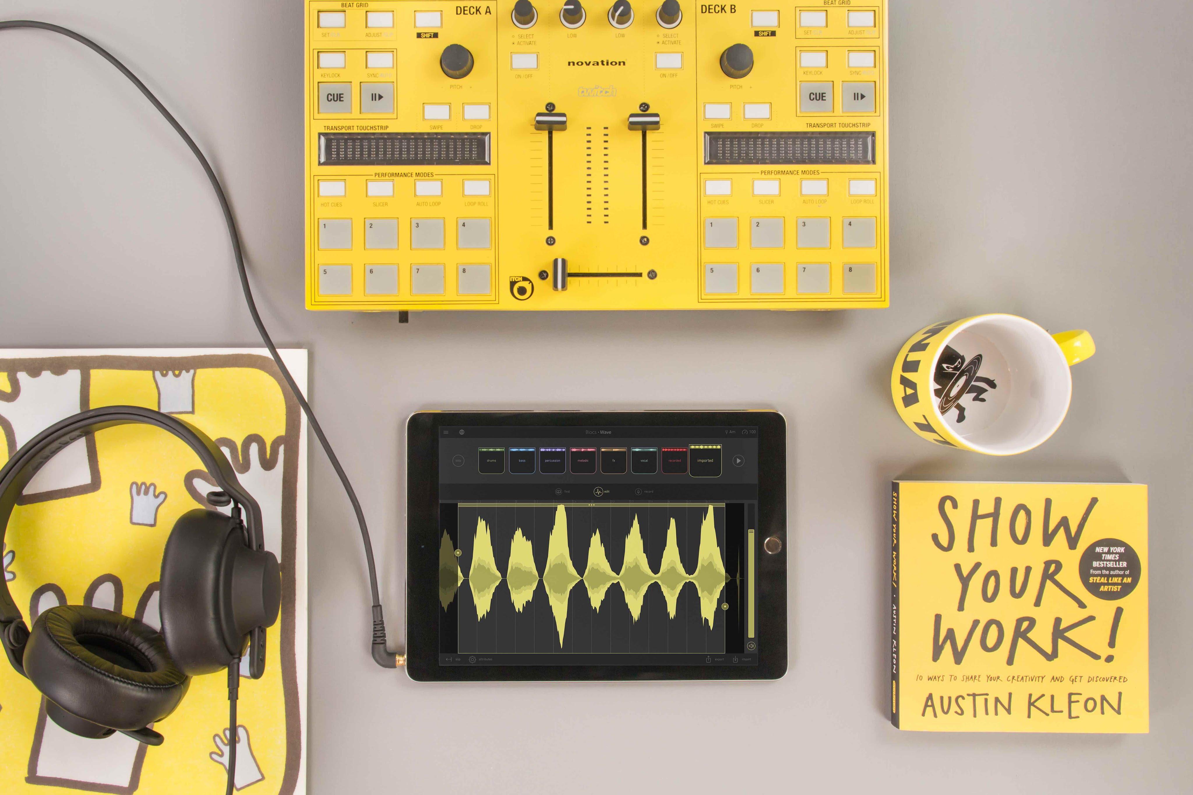 معرفی اپلیکیشن های آهنگسازی ios ؛ Blocs Wave، وارد دنیای مدرن آهنگسازی شوید