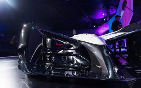 خودروی مسابقه ای بدون سرنشین شرکت روبوریس ; Roborace Self-drivirg Racecar