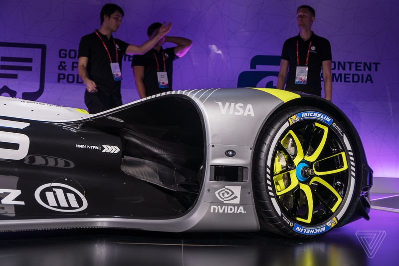 Roborace Self-drivirg Racecar