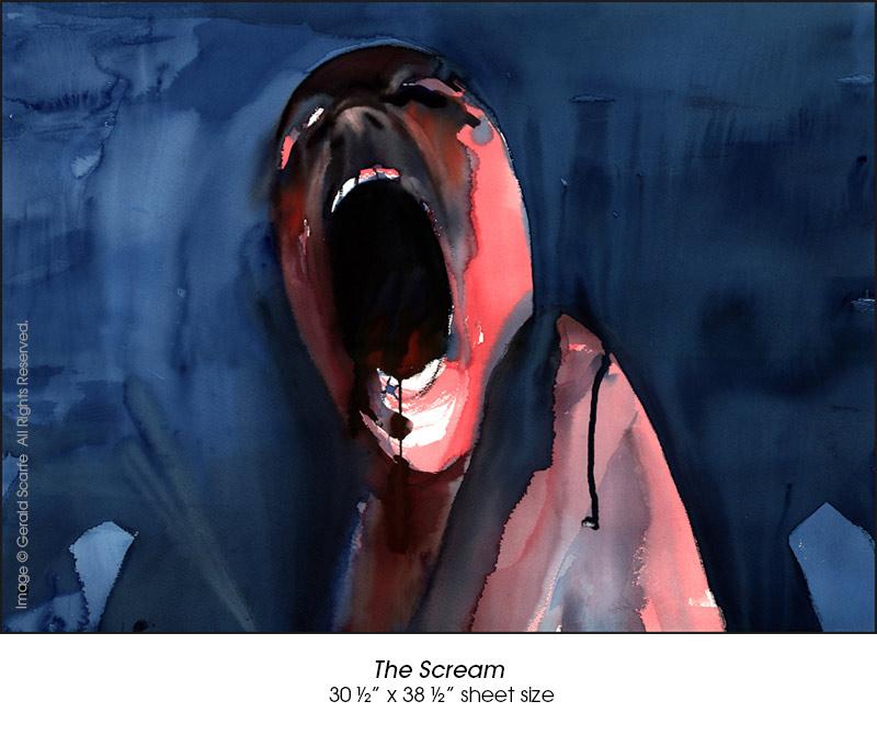 نقاشی های اصلی آلبوم The wall پینک فلوید