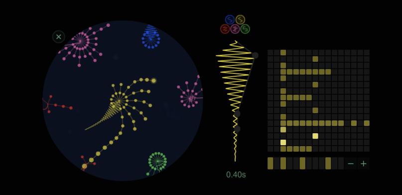 معرفی اپلیکیشن های آهنگسازی ios ؛ Seaquence آهنگسازی در آکواریومی رنگی!!!