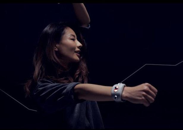 دستبند تجربی سونی