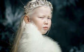 Nariyana دختر 8 ساله سفید برفی سیبری تمامی آژانس های مدلینگ را شگفت زده کرده است !!!