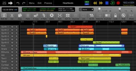 اپلیکیشن آهنگسازی Auria Pro