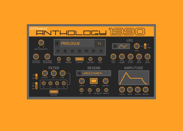 رولند سینتی سایزر Anthology 1990