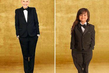 دختر بچه ای 3 ساله ای که برای حمایت از سرطان مادر بزرگش مدل شد !!!