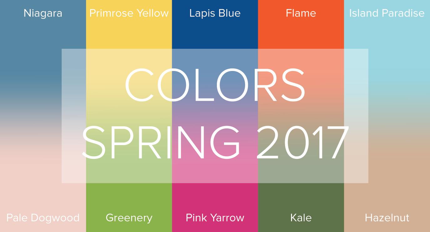 ۱۰ رنگ منتخب بهار و تابستان ۲۰۱۷ از دیدگاه طراحان مطرح جهان !!!