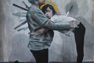 نقاشی های خیابانی آثار مودی و سمبولیک دن فرر هنرمند اسپانیایی