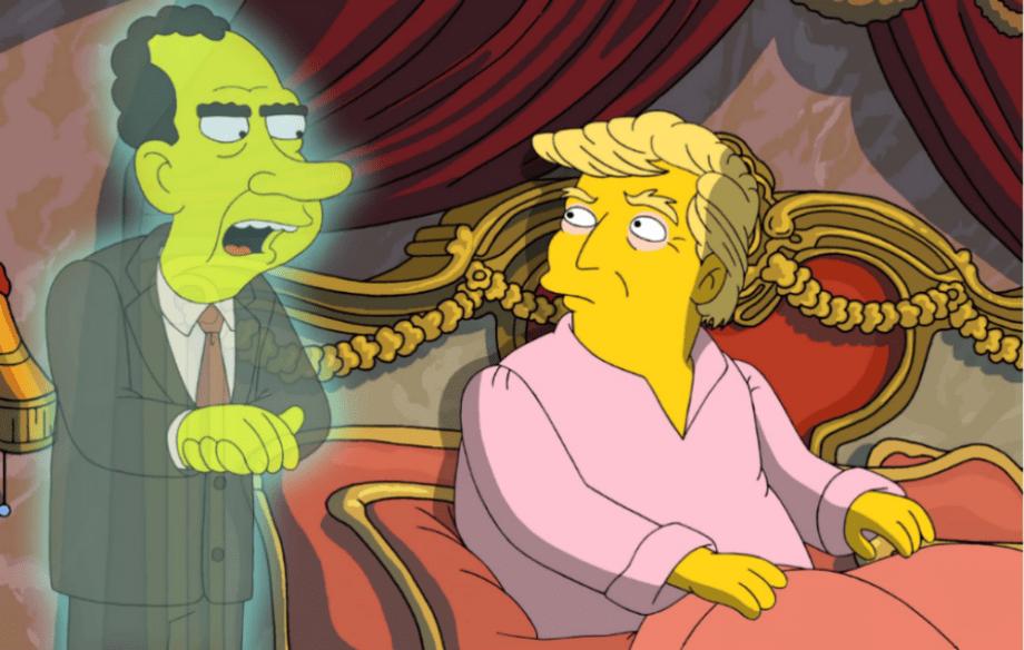 سیمپسون ها دوباره ترامپ را مسخره کردند
