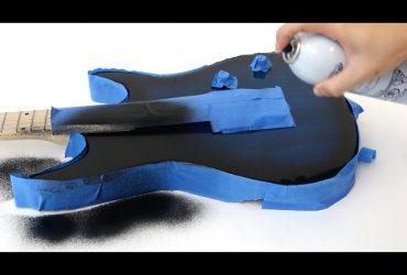 اسپری الکترومغناطیسی گیتار شما را تبدیل به پد لمسی می کند!