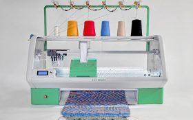 Kniterate ماشین بافندگی خودکار می تواند با فشردن یک دکمه طرح شما را تولید کند!