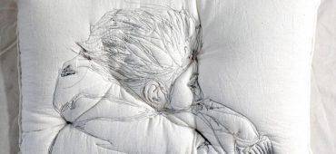مجموعه خواب اثر فوق العاده مریم اشکانیان، دوزندگی روی بالش !!!
