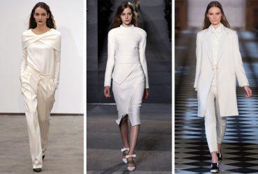 با استفاده از لباس های سفید و راحت در تابستان شیک و به روز باشید.