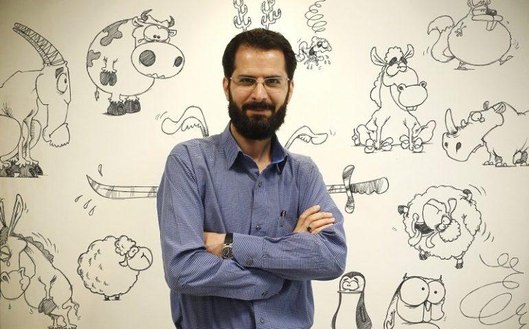 مجید خسرو انجم طراح و کارتونیست ایرانی