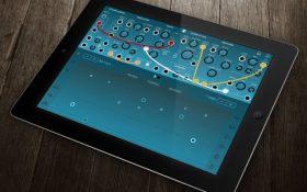 معرفی اپلیکیشن های آهنگسازی ios ؛ Ripplemaker سینتی سایزر ماژولار