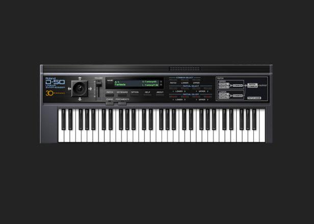 نسخه نرم افزاری سینت D-50 برای کاربران Roland Cloud منتشر شد