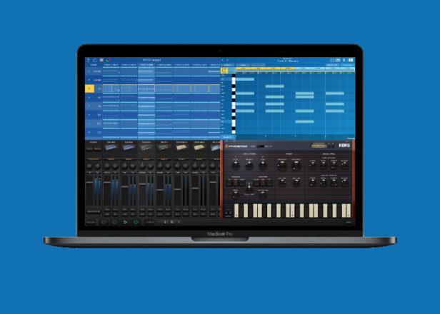 نسخه رایگان Korg Gadget studio