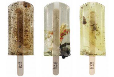 بستنی یخی هایی که از 100منبع مختلف آب های آلوده تولید شده اند !!!