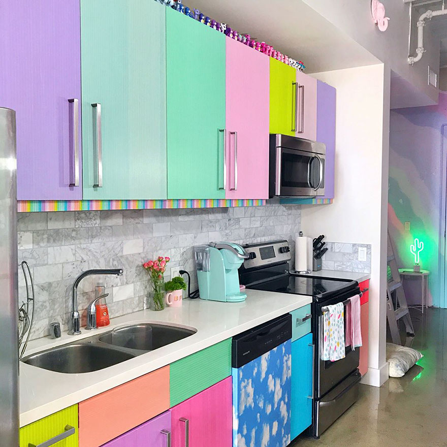 خانه رنگارنگ