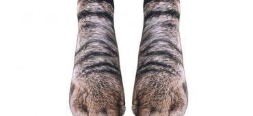 جوراب های به شکل پنجه های حیوانات که بسیار واقعی به نظر می رسد !!!