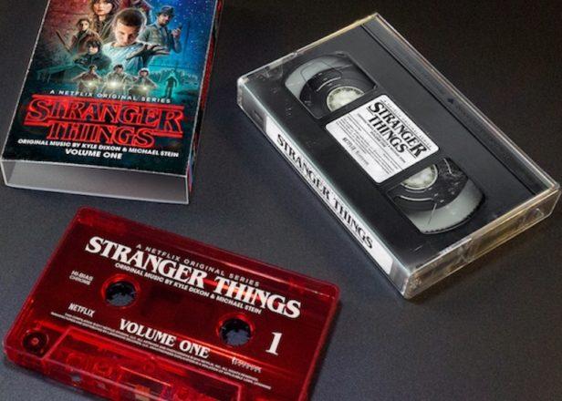 موسیقی متن سریال Stranger Things بر روی کاست