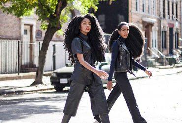 دو خواهر دوقلو که به خاطر موهای شگفت انگیزشان مشهور شدند !