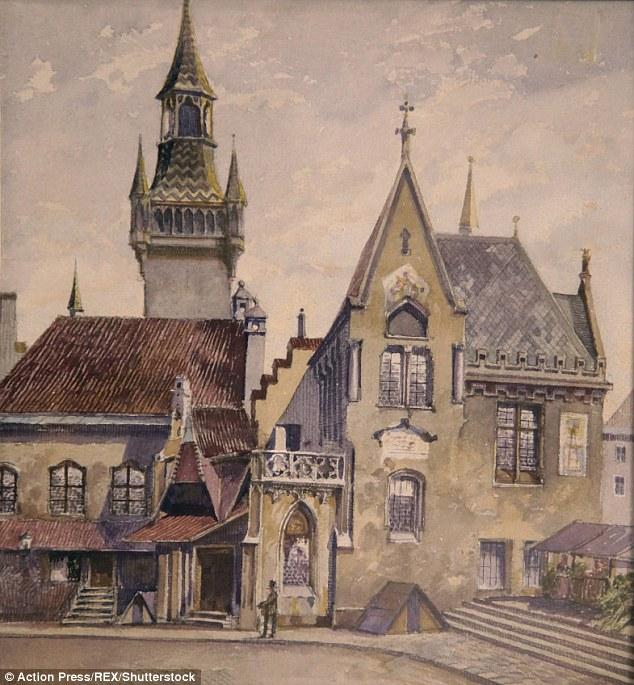 نقاشی های هیتلر
