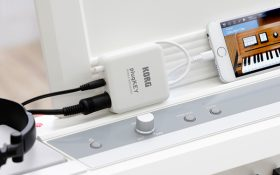 korg plugkey مبدل کوچک و قابل حمل Midi/Audio برای IOS