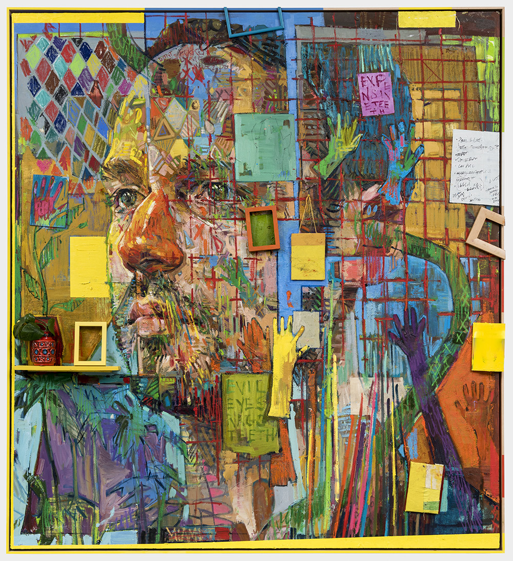 پرتره های ترکیبی (میکس مدیا) اثر اندرو سالگادو