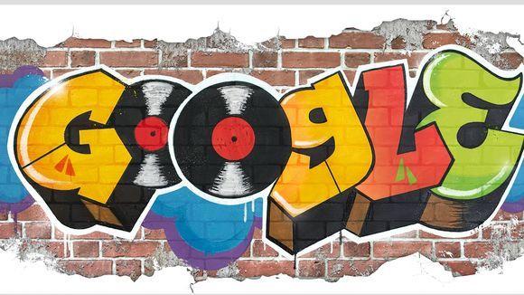 به مناسبت تولد 44 سالگی هیپ هاپ گوگل اقدام به طراحی دودل بسیار جالبی کرده است