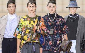 نگاهی به پوشاک مردانه در بهار و تابستان 2018