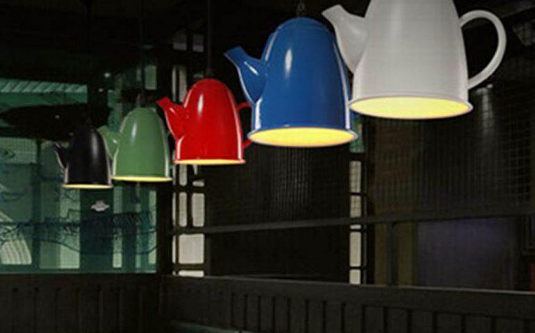 ایده هایی برای ساخت چراغ رومیزی و لوستر های خلاقانه در منزل