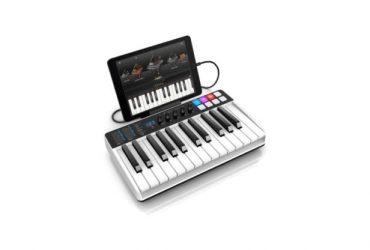 کیبوردiRig Keys I/O یک MIDI کنترلر با کارت صدای داخلی است !