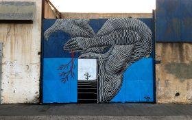 نقاشی های دیواری به سبک توپوگرافی اثر Klone